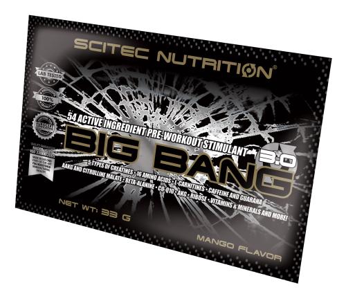 Scitec Nutrition Big Bang 3.0 33 gr.