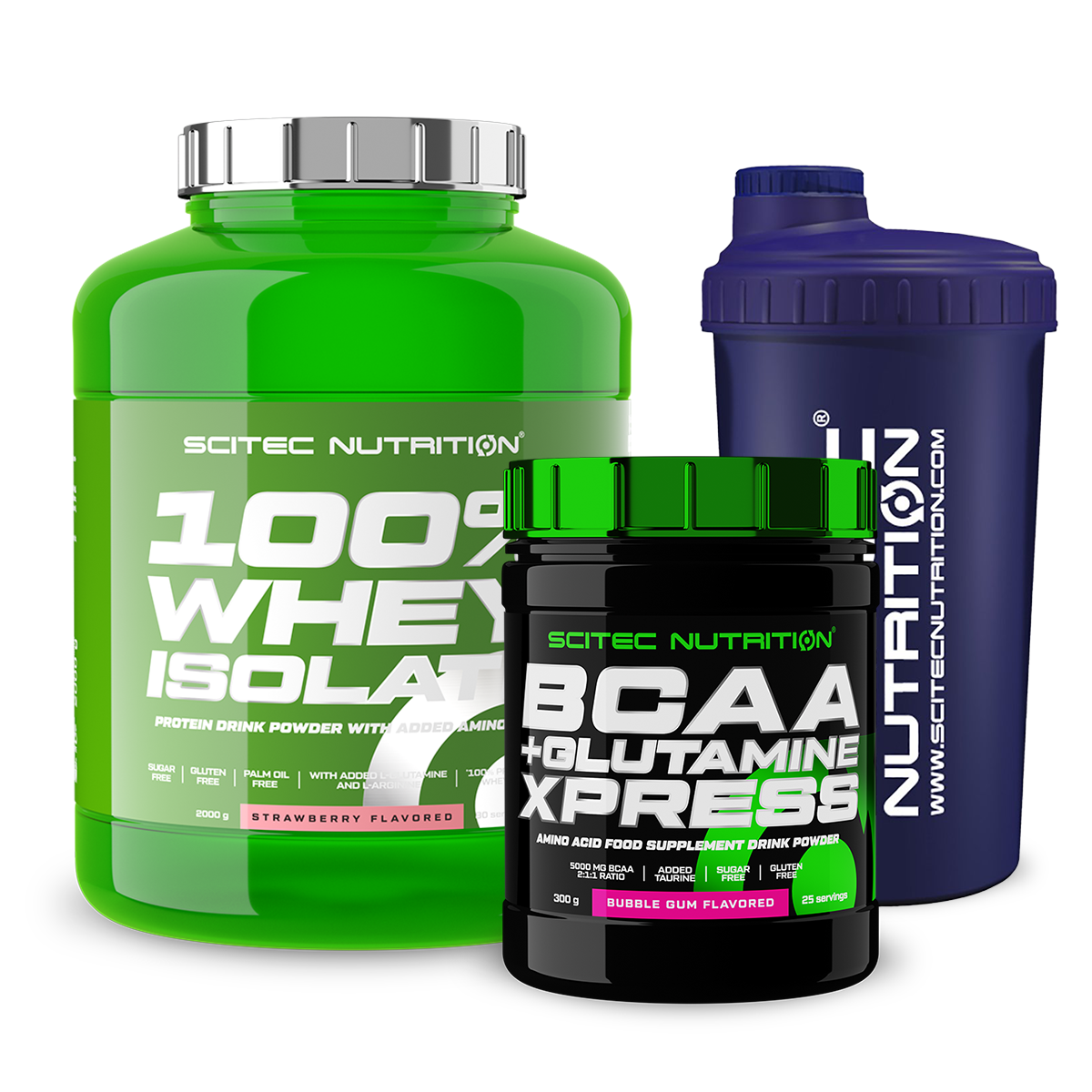 Scitec Nutrition 100% Whey Isolate + BCAA+Glutamine Xpress set