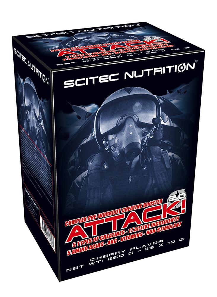 Scitec Nutrition Attack! 2.0 25x10 g