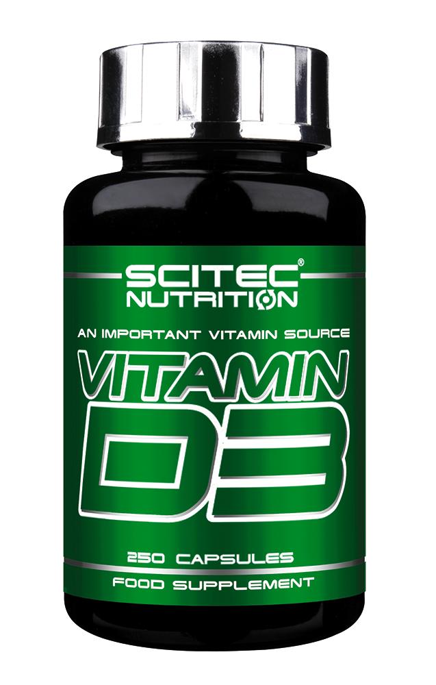 Scitec Nutrition Vitamin D3 250 caps